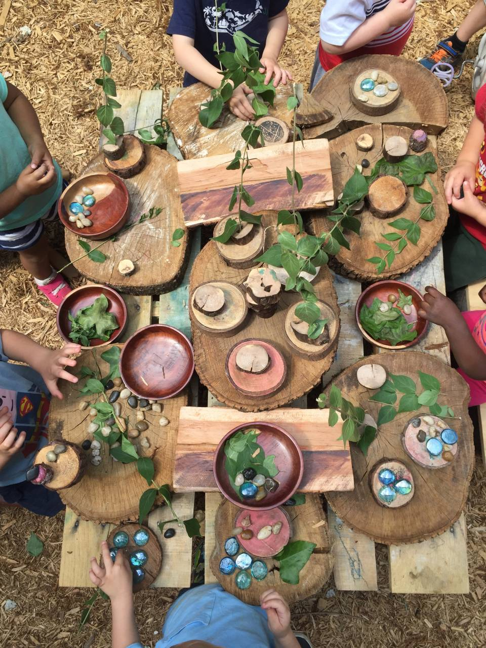 Picture Source; Willow School: Provocations on the Playground