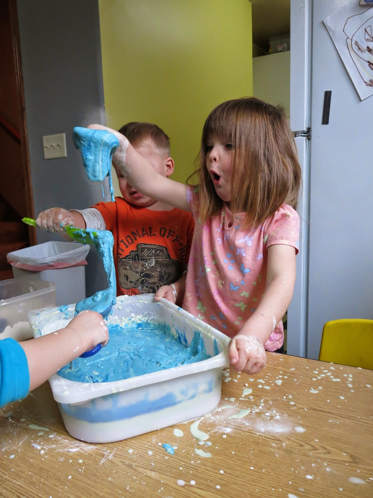 Kids at Play Counts love messy play