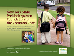 New York State Prekindergarten Common Core Standards
