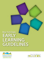 New York Early Learning Guidelines cover page