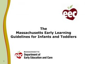 massachusetts early learning standards