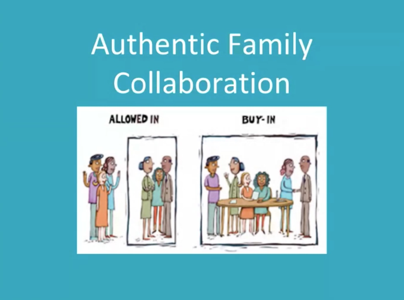 autheniic parent collaboration