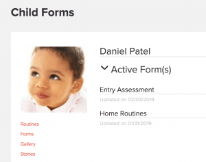early education forms