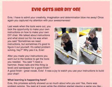 learning story webinar